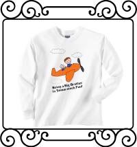 Being a big brother is so much fun white long sleeve t-shirt