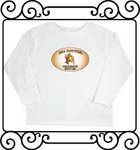Big brother dinosaur hunter white with navy ringer tshirt