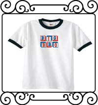 Personalized Big bro white with navy ringer tshirt