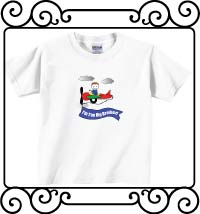 I'm the big brother airplane white short sleeve shirt