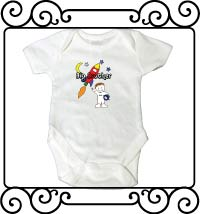 Big brother astronaut white bodysuit