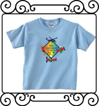 Big brothers are great with an aerospace theme light blue short sleeve t-shirt
