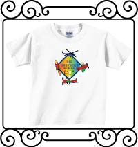 Big brothers are great with an aerospace theme white short sleeve tshirt