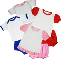 Shirt w/ Diaper Cover / Dress w/ Bloomer