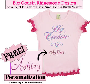 Big Cousin Rhinestone T-Shirt