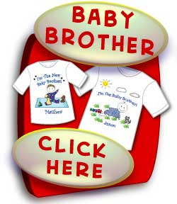Big Brother Shirts, Baby Brother Shirts