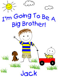 I'm going to ba a big brother tshirt