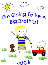 I'm going to ba a big brother shirt