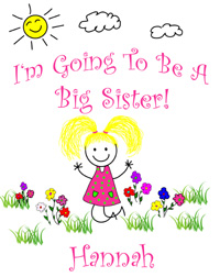 Big Sister in Training Tee Shirts
