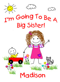 I'm Going To Be A Big Sister Shirts