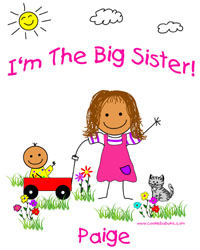 Hispanic-American Big Sister shirt