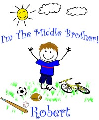 I'm the middle brother tshirt