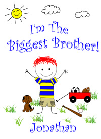 I'm the biggest brother tee shirt