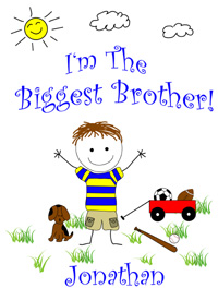I'm the biggest brother tshirt