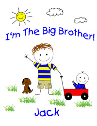 I'm the big brother shirt