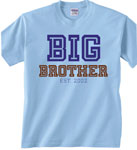 Big, Biggest, Middle, Little, Baby Brother Matching T Shirts, Onesies & More