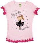 Big, Biggest, Middle, Little, Baby Sister Matching T Shirts, Onesies & More