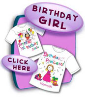 Birthday T Shirts for Girls