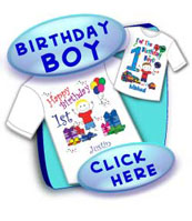 Birthday T Shirts for Boys