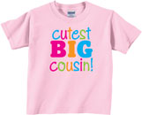 Cousin T Shirts, Onesies & More for Girls