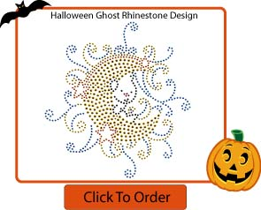 Personalized Halloween Rhinestone T-Shirt